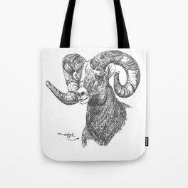 full curl Tote Bag