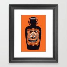 Snake Oil Framed Art Print