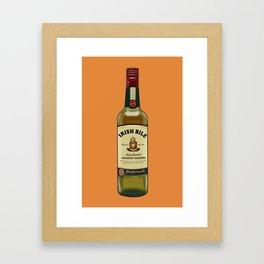 Irish Bile Jameson Framed Art Print