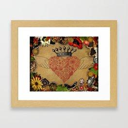 The Claddagh Framed Art Print