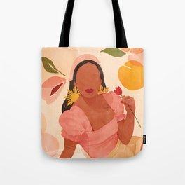 Filipina Girl Tote Bag