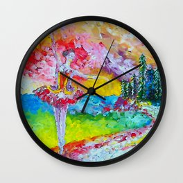 The pursuit of her dream remix Wall Clock