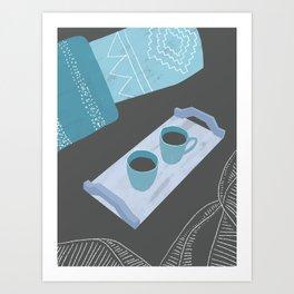 Morning Routine Art Print