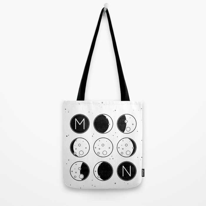 The Moon Phases Tote Bag