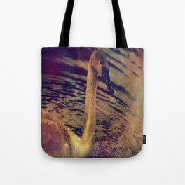 NEW TIMES SWAN. Tote Bag