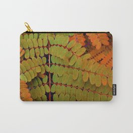 Tiny Leaves Abstract Carry-All Pouch