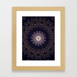 Black Dahlia Framed Art Print