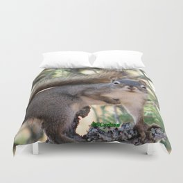 And Who Are You? Duvet Cover