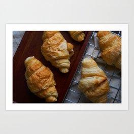 Croissants Art Print