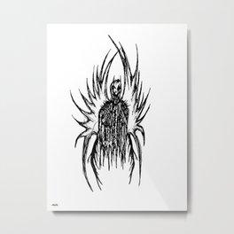 Azrael (white) Metal Print
