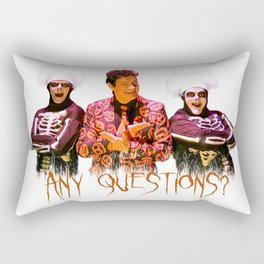 David S. Pumpkins - Any Questions? Rectangular Pillow