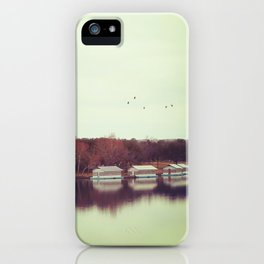 Autumn by the Lake iPhone Case
