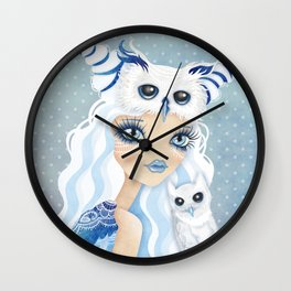 Owl Duchess Wall Clock