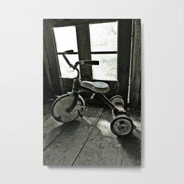 Old Trike Metal Print
