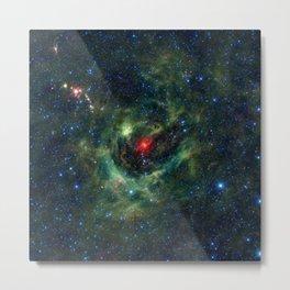 1493. A Celestial Shamrock Metal Print