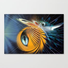 Insectoid Canvas Print