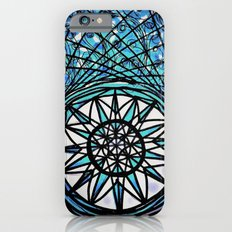 Blue Flame Mandala iPhone 6s Slim Case