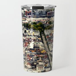Bergen fron Above Travel Mug