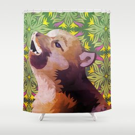 Baby Insanity Wolf Shower Curtain