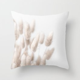Dried Ornamental Grasses 2 Throw Pillow