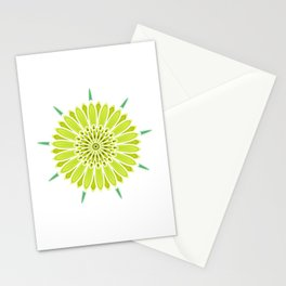 Yellow Salsify Stationery Cards