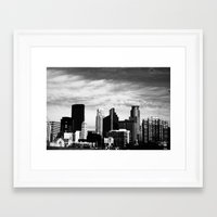 minneapolis Framed Art Prints featuring Minneapolis by Sarah Margulies