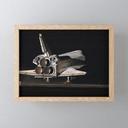 759. STS-130 Endeavour Lands at KSC Framed Mini Art Print