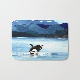 Orca Breach Bath Mat