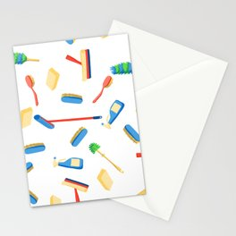 Cleaning service supplies. Stationery Cards