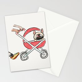 This is not a baby stroller Stationery Cards