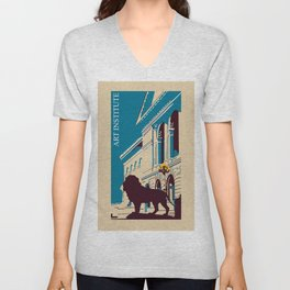 Art Institute Chicago Unisex V-Neck