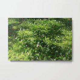 Woodland Carpet Metal Print