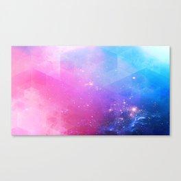 rainbow visor Canvas Print