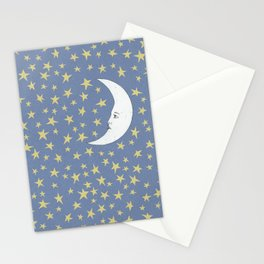 To the Mooon to the Starrs Stationery Cards