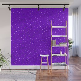 Speckles II: Purple Wall Mural