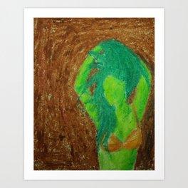 Jungurl Art Print