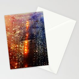 Fire Showers Stationery Cards