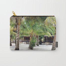 Bungalows on Palm Beach Carry-All Pouch