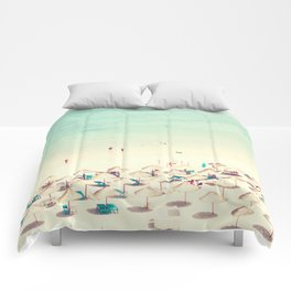 beach XVI Comforters