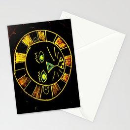 Neon Chalkboard Lion Face GRRR Stationery Cards