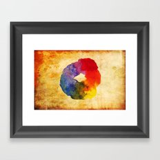 Colors Series 1 : Circle of Life Framed Art Print