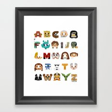 ABC3PO Framed Art Print