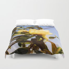 Magnolia and Bee Duvet Cover