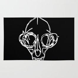 Madam Salami Cat Skull Rug