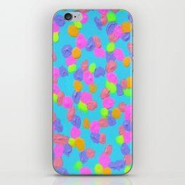 Spring Colors Drip Abstract Art iPhone Skin