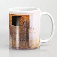 door Mugs featuring Door by  ETE*