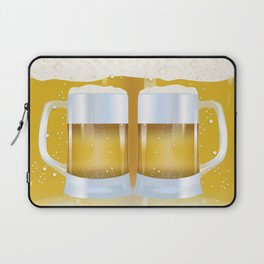 illustration of beer glass, Beer Laptop Sleeve