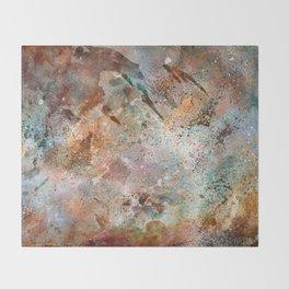 Acrylic Carina Nebula Throw Blanket