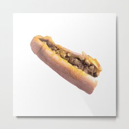 Cheesesteak Metal Print