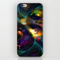 universe iPhone & iPod Skins featuring Universe by Robin Curtiss